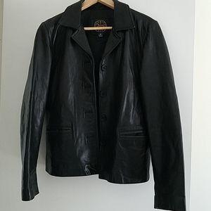 Harold's leather jacket